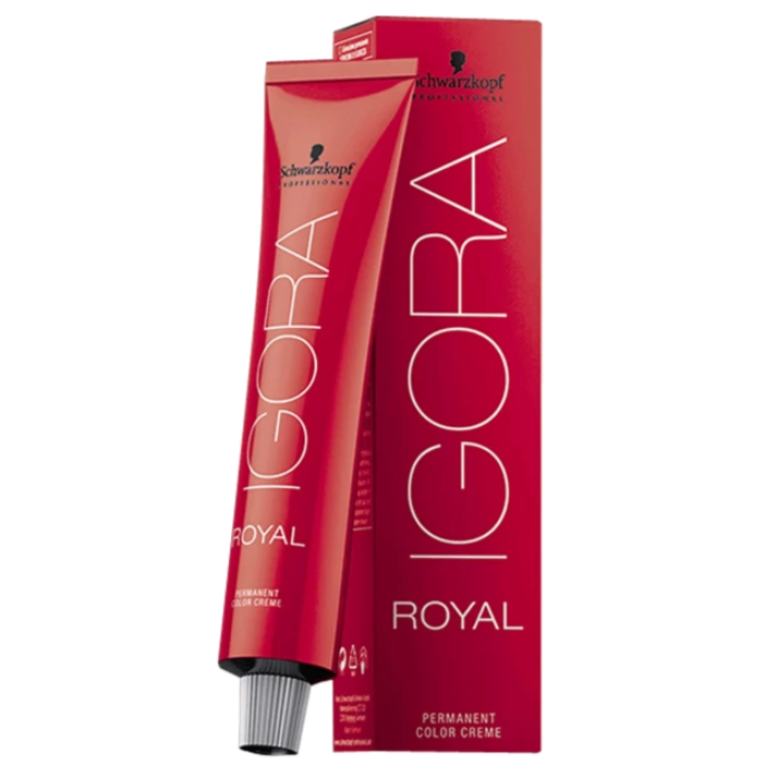 Schwarzkopf Professional Igora Royal Permanent Color Cream 60g/2.1oz