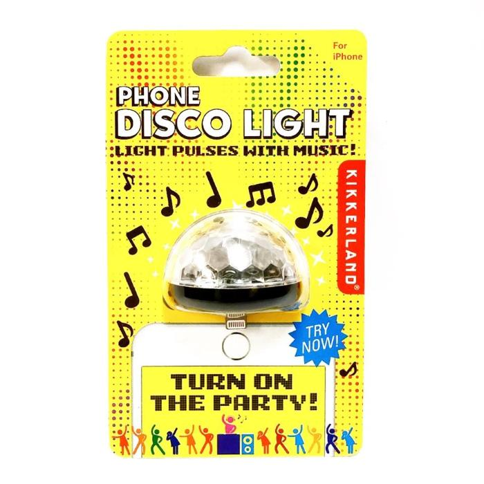 Kikkerland Phone Disco Light