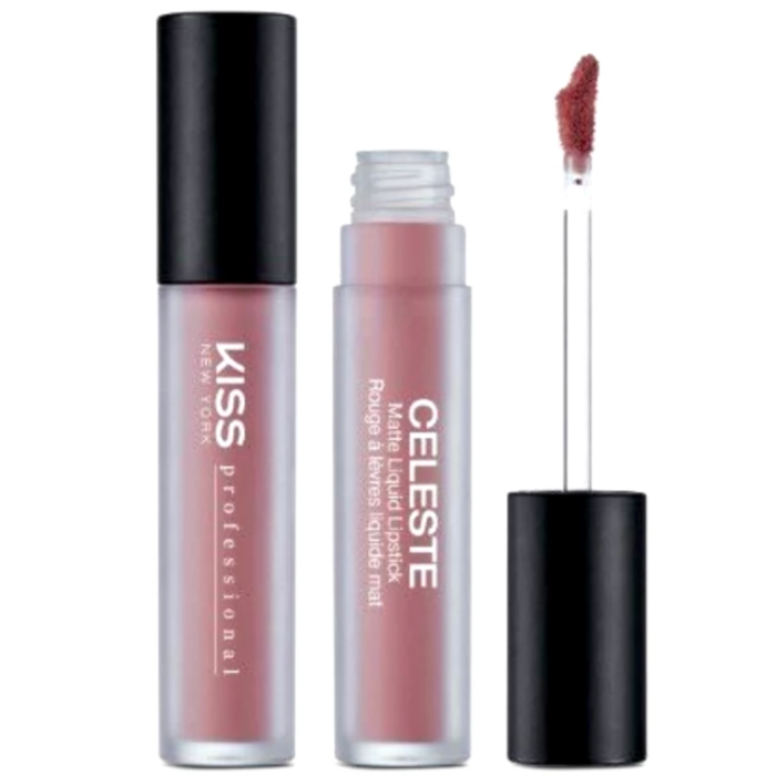 Kiss New York Professional Celeste Matte Liquid Lipstick