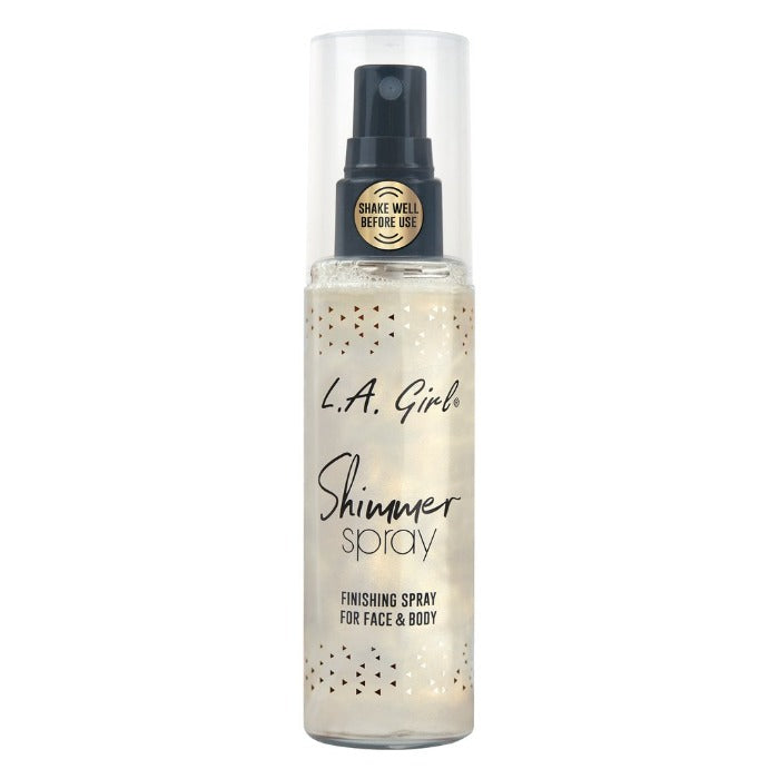 L.A. Girl Shimmer Spray Finishing Spray For Face & Body 2.7oz / 80mL
