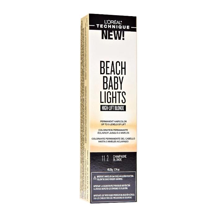 L'Oréal Technique Beach Baby Lights High-Lift Blonde Permanent Hair Color 49.29g/1.74oz