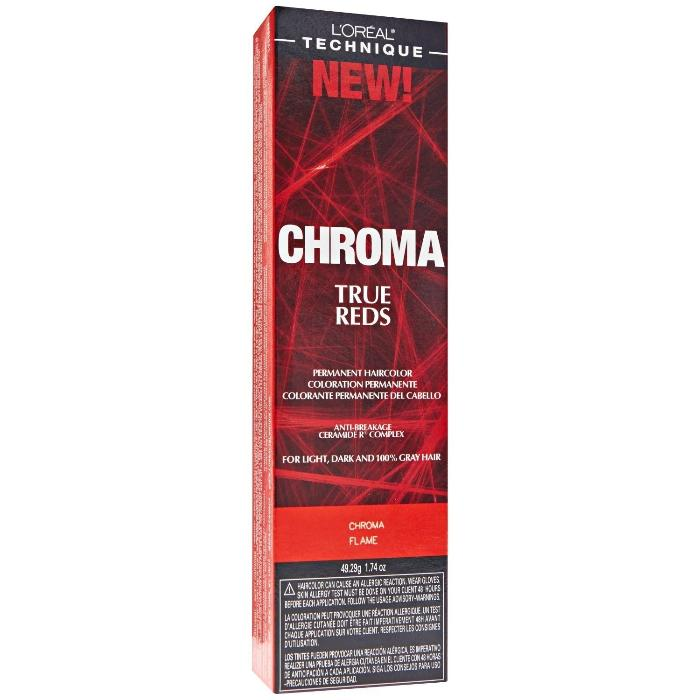 L'Oréal Technique Chroma True Reds Permanent Hair Color 49.29g/1.74oz