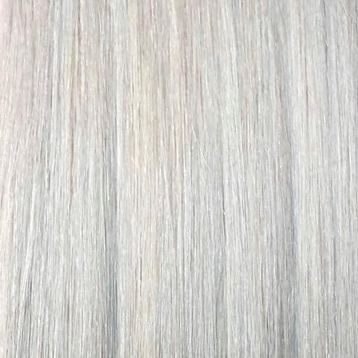 silver/gray hair color extensions