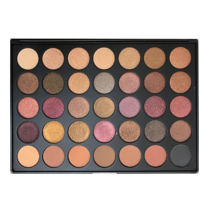 Morphe 35F Fall Into Frost Artistry Eyeshadow Palette