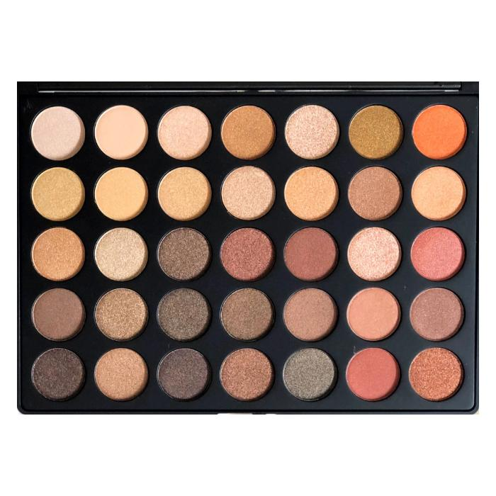 Morphe 35OS Nature Glow Shimmer Artistry Eyeshadow Palette