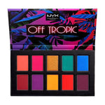 NYX Professional Makeup Off Tropic OTSP01 Hasta La Vista Shadow Palette 10x Poids 0.03oz / 1.1g