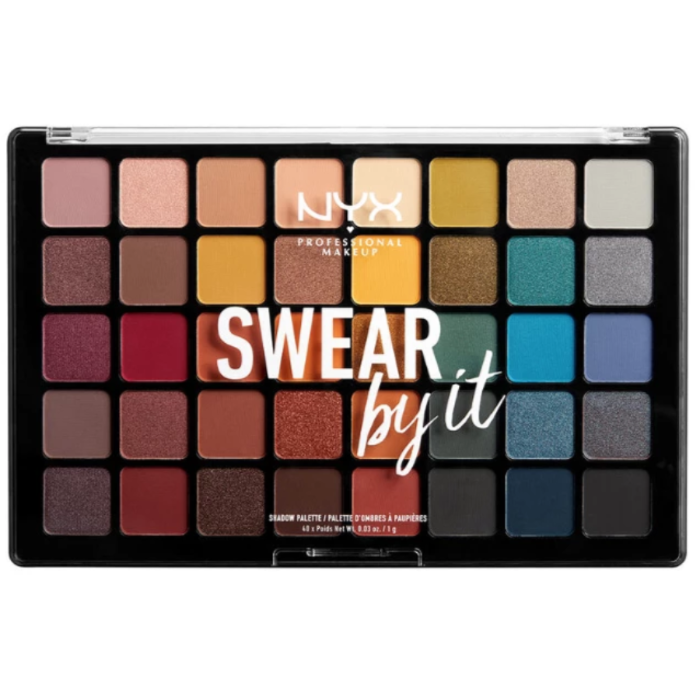 NYX Professional Makeup Swear By It Eyeshadow Palette 40x Poids 0.03oz / 1g