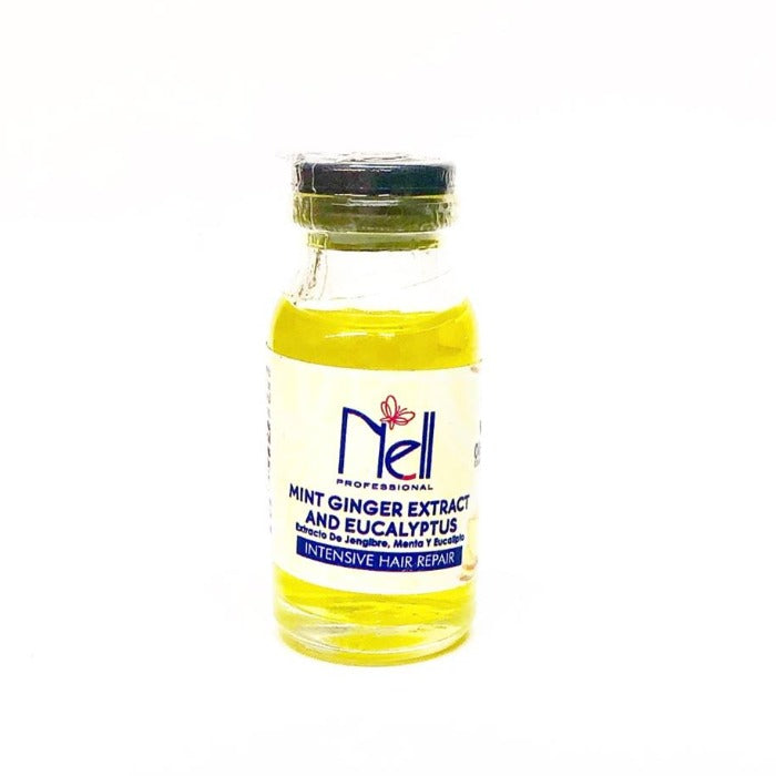Nell Professional Mint Ginger Extract And Eucalyptus Intensive Hair Repair 10ml