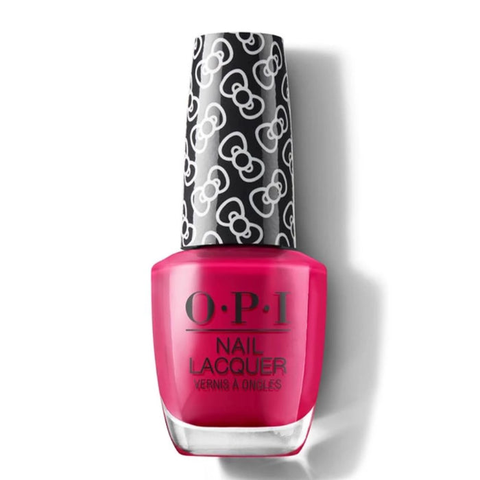 O.P.I Nail Lacquer Nail Polish Hello Kitty Collection 0.5oz / 15ml