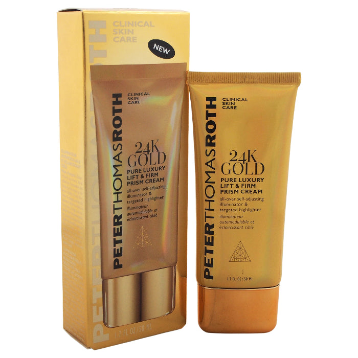 Peter Thomas Roth 24K Gold Pure Luxury Lift & Firm Prism Cream 1.7oz / 50ml