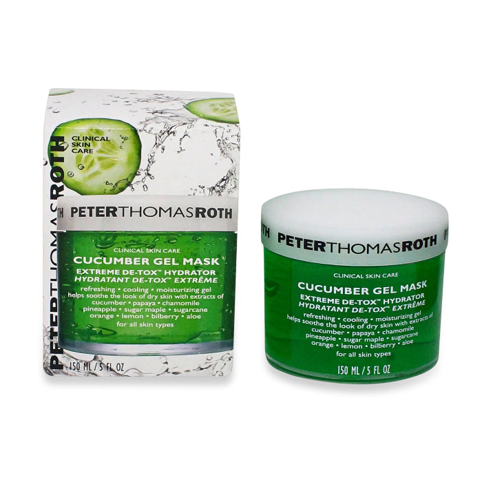 Peter Thomas Roth Cucumber Gel Mask Extreme De-Tox Hydrator 5oz / 150ml