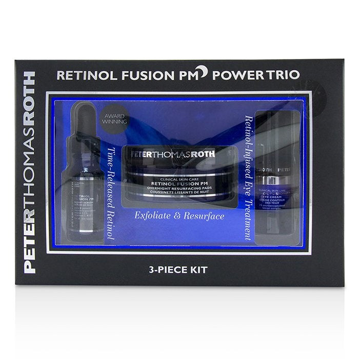 Peter Thomas Roth Retinol Fusion Pm Power Trio 3-Piece Kit