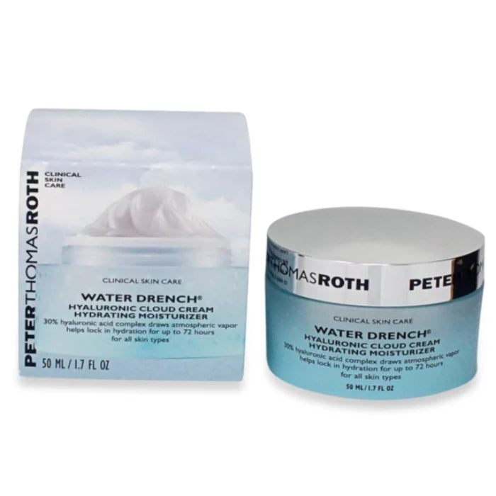 Peter Thomas Roth Water Drench Hyaluronic Cloud Cream Hydrating Moisturizer 1.7oz / 50ml