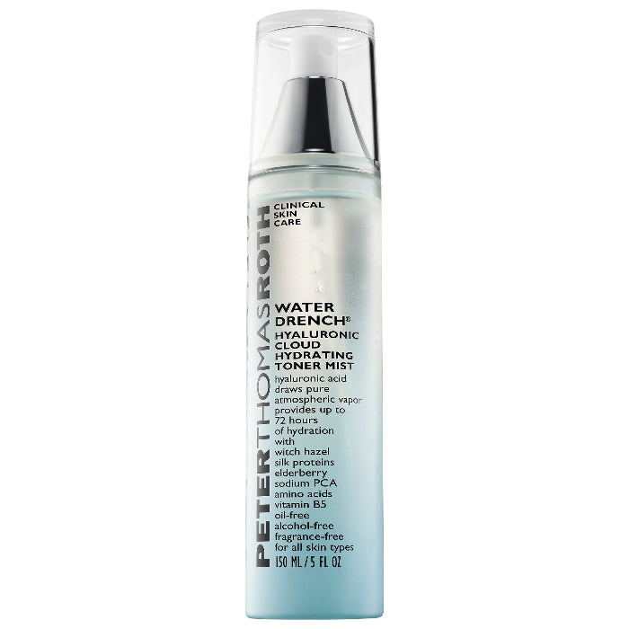 Peter Thomas Roth Water Drench Hyaluronic Cloud Hydrating Toner Mist 5oz / 150ml