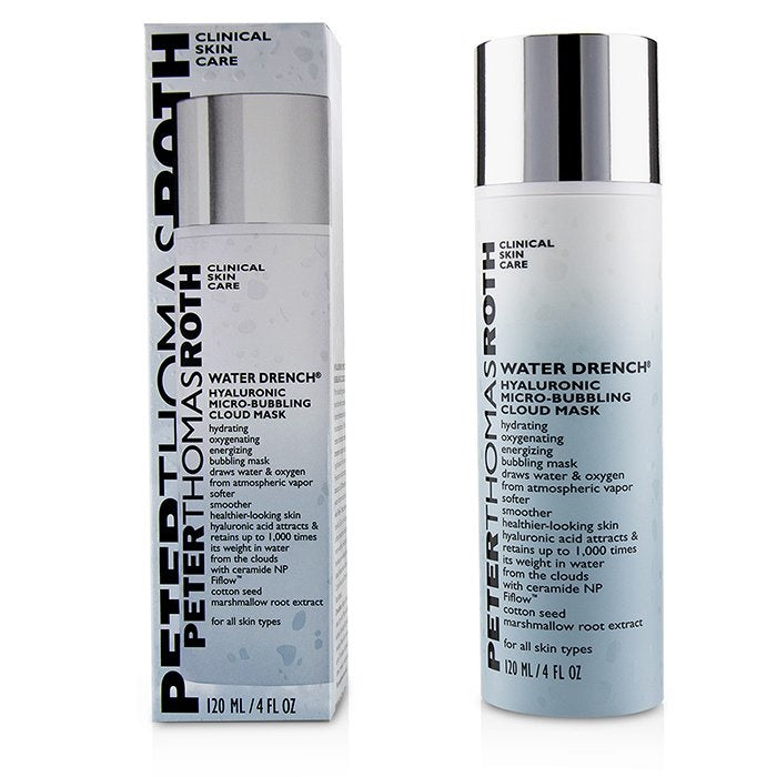 Peter Thomas Roth Water Drench Hyaluronic Micro-Bubbling Cloud Mask 4oz / 120ml