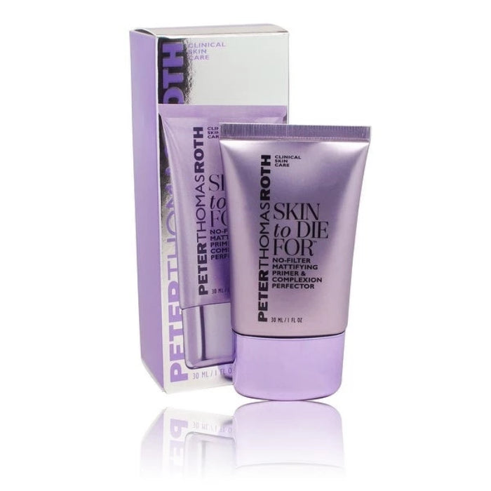 Peter Thomas Roth Skin To Die For No-Filter Mattifying Primer & Complexion Perfector 1oz / 30ml