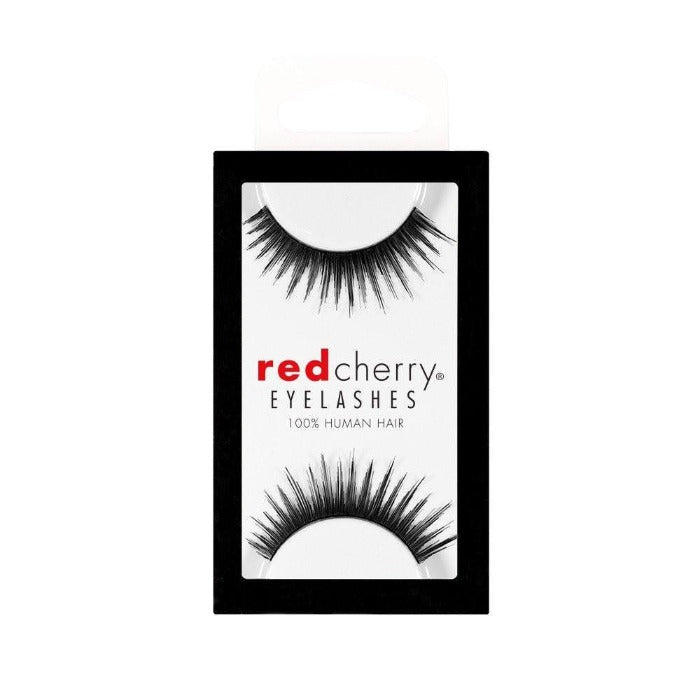 Red Cherry Eyelashes 100% Human Hair