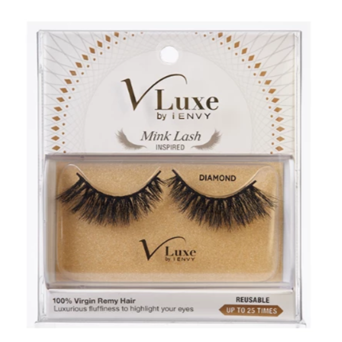 VLuxe By iEnvy Mink Lash Luxurious Fluffiness To Highlight Your Eyes Reusable