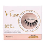 VLuxe By iEnvy Real 3D Mink Lash With Naturally Lustrous Sheen Reusable