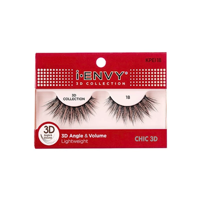 3D Angle & Volume Lightweight Chic Icon Eyelashes
