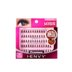 iEnvy By Kiss 70 Individual Lashes Knot Free Triple Black Volume 3X