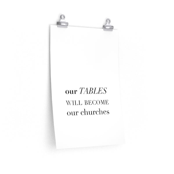 Our Tables