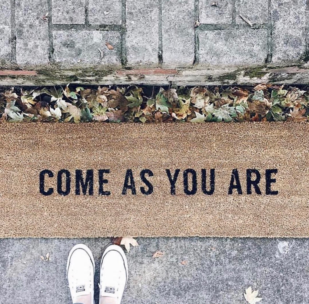 Come as you are Rug