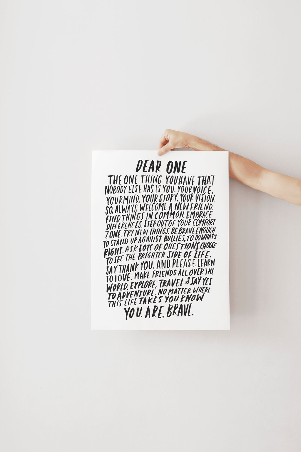 Dear One | Art Print