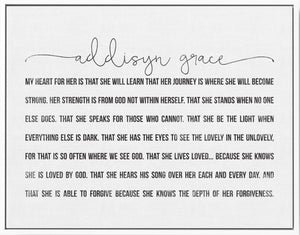 Grace's Prayer