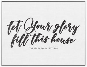 Let Your Glory