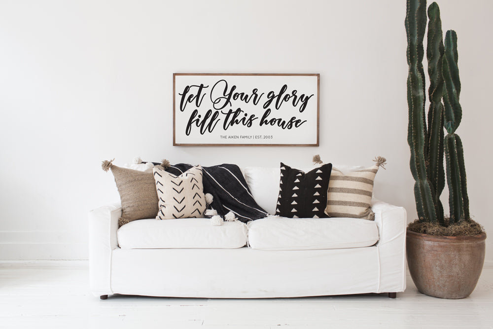 Let your Glory | Customizable