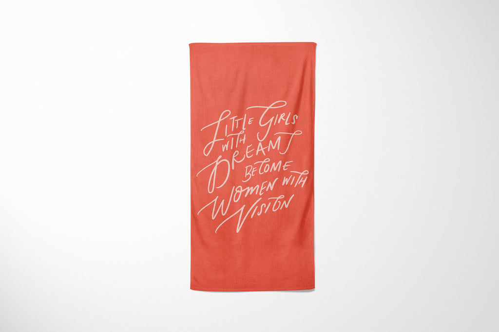 Little Girls | Beach Towel