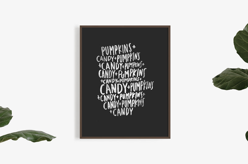 candy + pumpkins | Digital Download