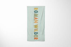 Custom Name No.3 | Beach Towel