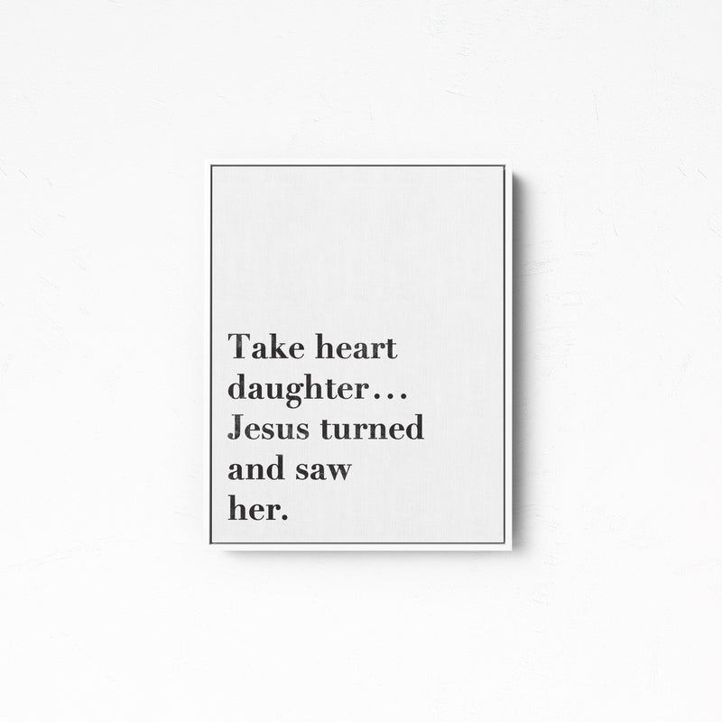 Take Heart | Canvas