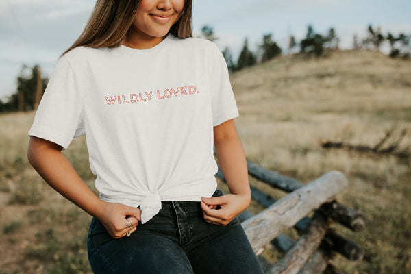 Wildly Loved. | Short Sleeve Tee