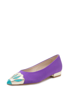 LILIAN FLATS PURPLE