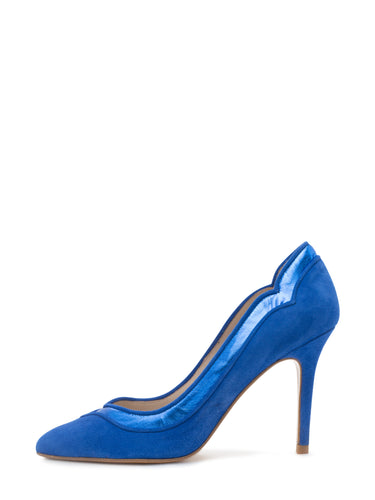 Eva Blue Pump