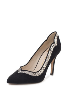 Eva Black Pumps