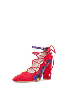 Rosalia Red Pump