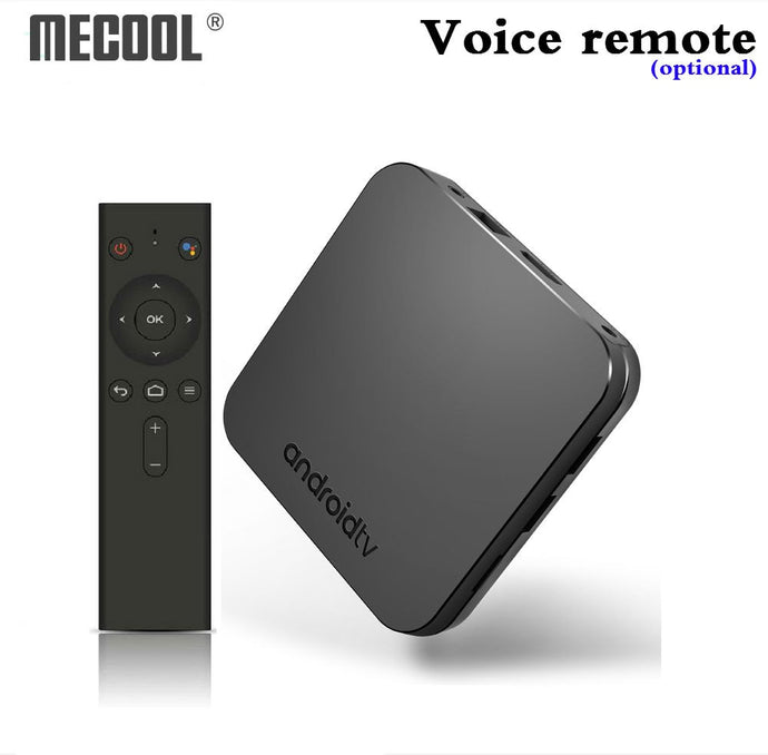 Mecool KM9 Android 8.1 TV Box S905X2 DDR4 4GB 32GB 2.4G/5G WiFi Bluetooth 4.1 Voice Control Set Top Box Smart 4K media player