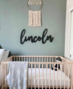 Custom Nursery Name Sign