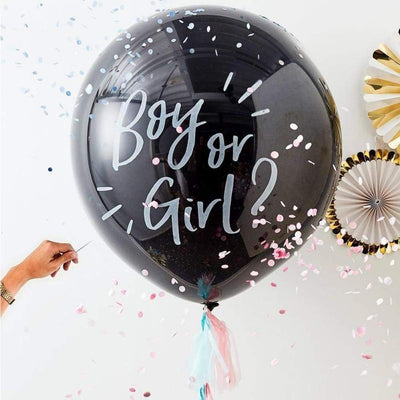 Giant Gender Reveal Boy Or Girl Balloon Kit - Balloons & Accessories