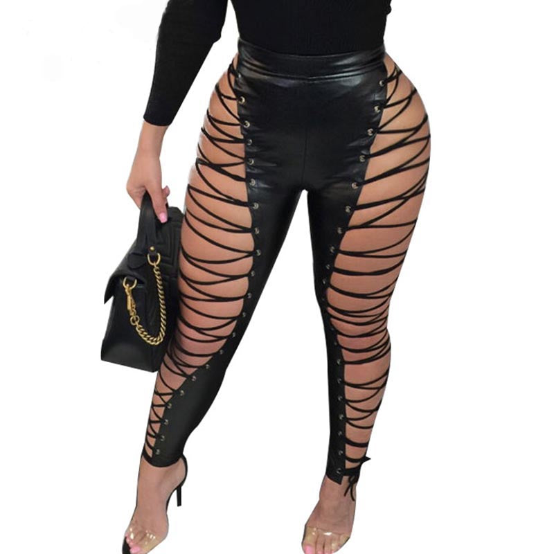 AMAZING GURL PANTS - BLACK/MULTI