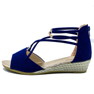 Wegde Casual Open Toe Gladiator