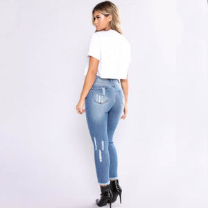 THE PERFECT FAN JEANS - BLUE
