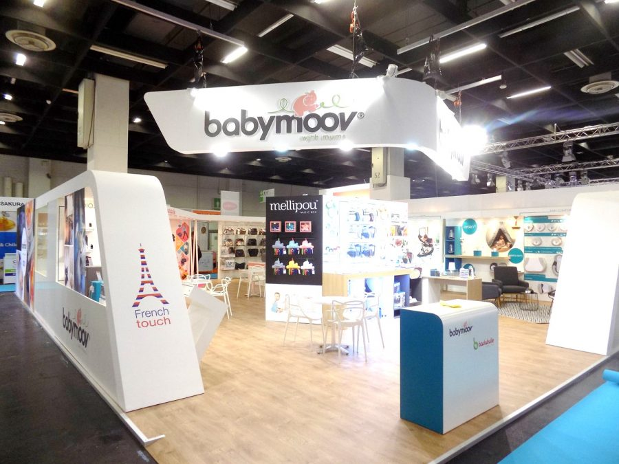 Stand Salon professionnel Babymoov Media Product