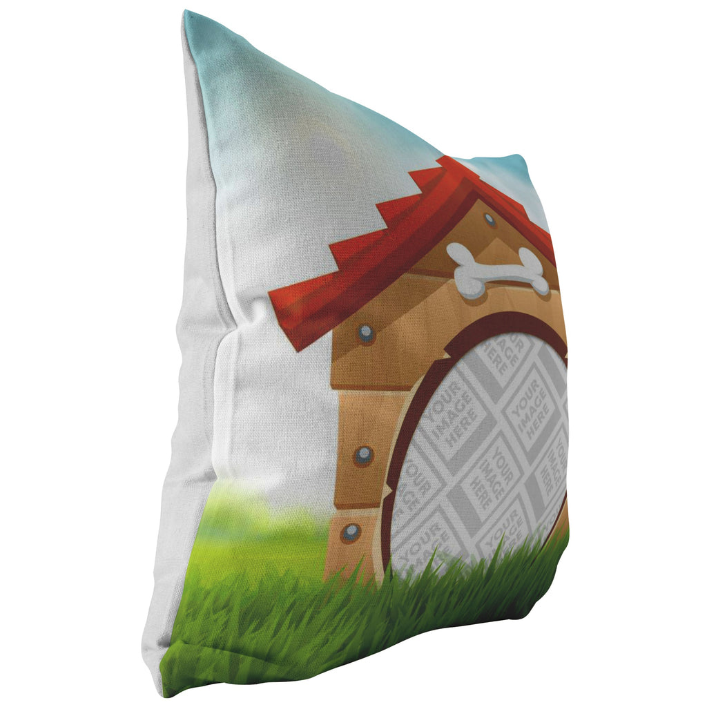 Pillows Multi Template - Dog House Personalized Pillow