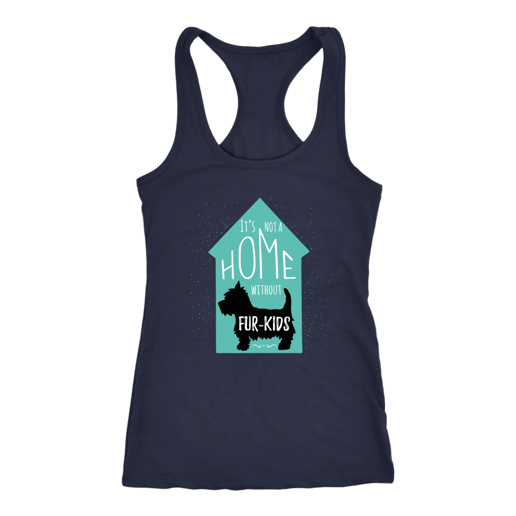 T-shirt - Home With Fur Kids Women's Shirt