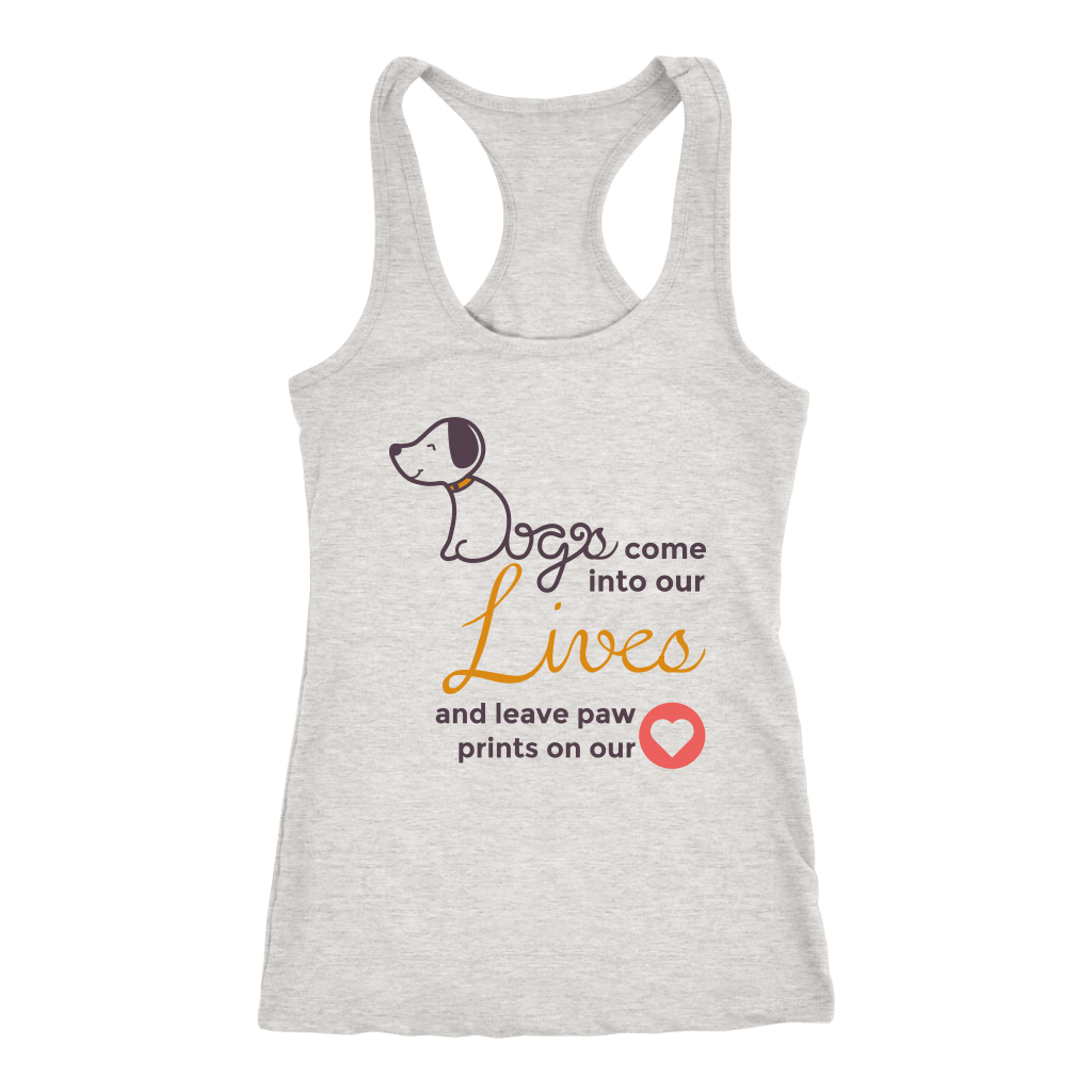 T-shirt - Into Our Lives, Leave Paw Prints On Our Heart Women't Shirt